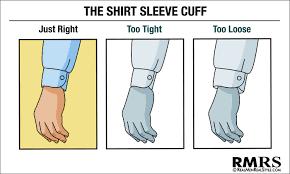 how a men u0027s dress shirt should fit