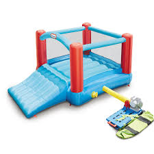 bounce houses and inflatable water slides by little tikes