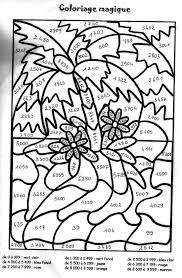 Coloriage Magique Cm2 à colorier  Dessin à imprimer  Ahmad