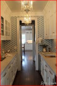 narrow kitchen design ideas 10 best narrow kitchen design ideas rentaldesigns