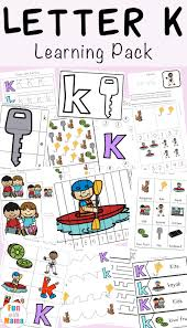 letter k activities for preschool printable pack fun with mama