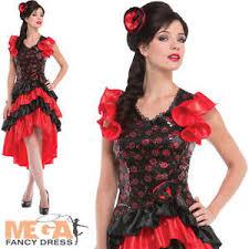 spanish ladies fancy dress fleminco dancer senorita national