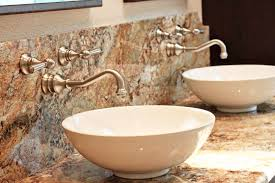 wall faucet bathroom modern rooms colorful design gallery in wall