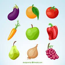 imagenes gratis de frutas y verduras pack de verduras y frutas descargar vectores gratis