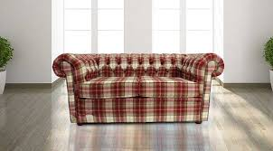 Tartan Chesterfield Sofa Buy Tartan Wool Chesterfield Sofa At Designersofas4u