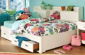 White Storage Bookcase by Park City White Full Bookcase Storage Lounge Bed From Legacy Kids