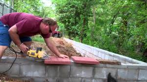 Building Patios by Building A Brick Bench Finishing A Stone Patio And Brick Border