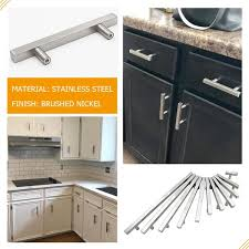 kitchen cabinets with silver handles 8 4 5 inches silver drawer handles for kitchen cabinets lsj22bss224