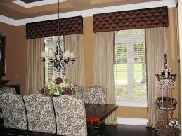 dining room window treatment home design