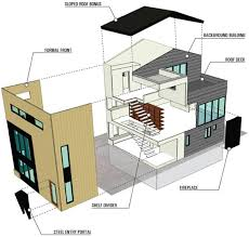 modern house design plans waterfront house designs by modern seattle architect