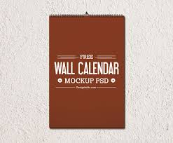 2015 wall calendar template mockup psd download download psd