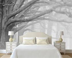 Bedroom Mural | beibehang 3d wallpaper living room bedroom murals modern black and