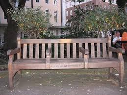memorial benches memorial bench