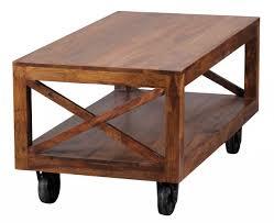 Wohnzimmertisch Mit Stauraum Finebuy Couchtisch Massiv Holz Sheesham 110 Cm Breit Wohnzimmer