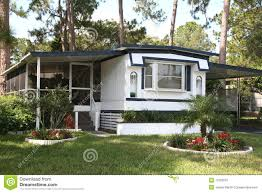 single wide mobile home royalty free stock photography image