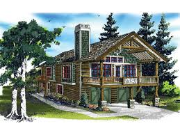 Garage Apartment Plans One Story Rustic Garage With Smart Living Apartment Hwbdo76641 Country
