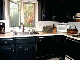 Beadboard Kitchen Cabinets Diy - diy painted black kitchen cabinets 25 best black distressed