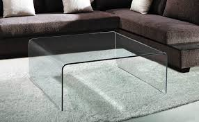 square cocktail table living room viva modern arch square coffee table bent glass curved glass