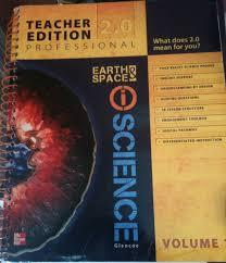 earth u0026 space iscience teacher edition 2 0 vol 1 michelle