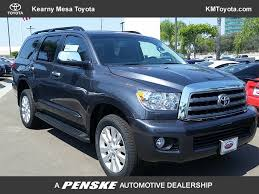 new toyota vehicles 2017 new toyota sequoia platinum 4wd at kearny mesa toyota serving