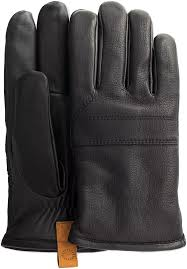 ugg gloves canada sale black ugg gloves casual leather glove with pull omoda com