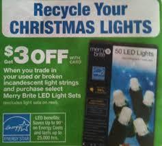 cvs recycle christmas lights 3 00 starting