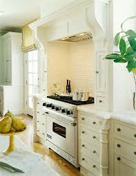 Traditional Home Great Kitchens - furniture legs built in around to give a built in look to your