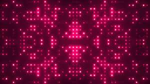mirrored light grid hd background loop