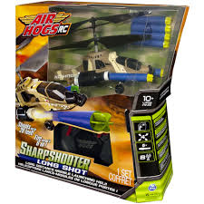 nerf remote control tank air hogs sharpshooter long shot rc helicopter with bonus darts