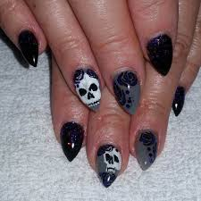 nail art 43 unbelievable skull nail art pictures concept 3d