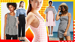 preppy clothing how to wear gingham clothes throwback print stylecaster