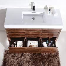 walnut bathroom vanity bliss 48