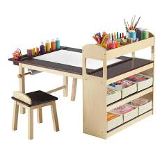 kids art table with storage 15 kids art tables and desks for little picassos home design lover