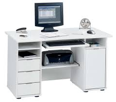 White X Desk by White Computer Desk With Storage White Metal Shelf Wooden Office