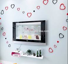 new heart shape 3d wall sticker home decor high quality foam wall new heart shape 3d wall sticker home decor high quality foam wall stickers wholesale price wall sticker home decor buy new heart shape 3d wall sticker