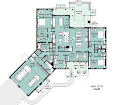 craftsman style house plan 4 beds 5 00 baths 4162 sq ft plan 917 41