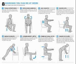 exercises to do at your desk deskercise times free press