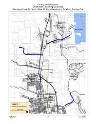 Fort Bragg Map Mendocino County Regional Bikeway Plan