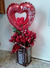 balloon and candy bouquets hershey flower search pinteres