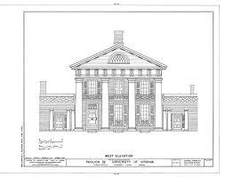 The Jeffersons Apartment Floor Plan Ad Classics University Of Virginia Thomas Jefferson Archdaily