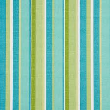 Upholstery Fabric Striped Green Blue And White Striped Outdoor Indoor Upholstery Fabric By
