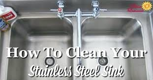 shine stainless steel sink clean stainless steel kitchen sink how to clean and shine stainless