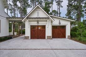 l shaped garages elevated breezeway to garage studio space d michael collins
