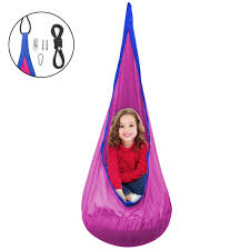 tent chair sorbus kids child pod swing chair tent hanging seat