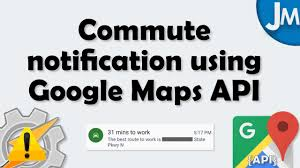 Google Maps Create Route by How To Create A Commute Notification Using Google Maps Api