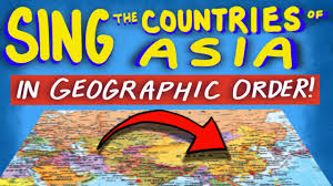 Countries In Asia Map by Countries Of Asia Song From