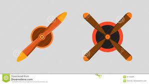 Plane Ceiling Fan Propeller Fan Vector Wind Ventilator Equipment Air Plane Blower