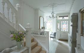 Traditional Staircase Ideas Interior Elegant French Inspired Classic London House Interior
