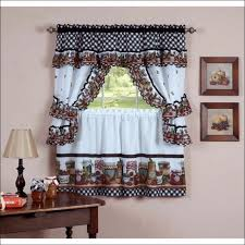 Teal And Red Curtains Kitchen Rooms Ideas Amazing White Kitchen Curtains Valances Teal