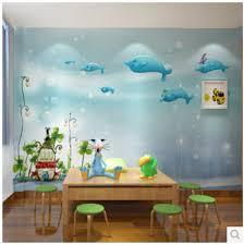 Aliexpresscom  Buy Mural Fairytale Castle Mural D Wallpaper For - Girls bedroom wall murals